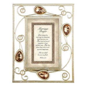 Marriage Prayer Matthew Picture Frame