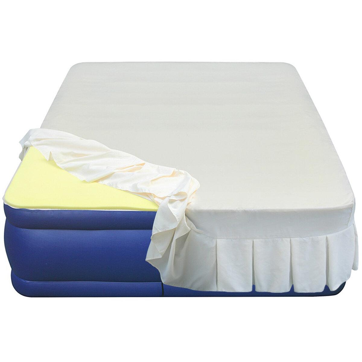 Altimair Essentials Airbed High 3 4 Density Memory Foam Mattress