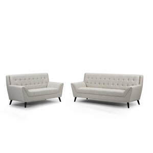 Adore 2 Piece Living Room Set by Noble House