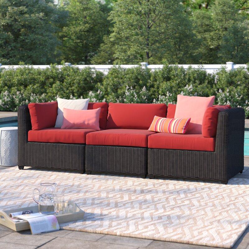 Fairfield Patio Sofa With Cushions