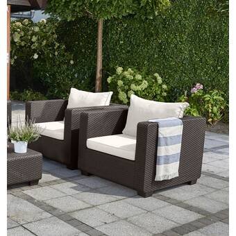 Prime Highland Dunes Edwards Patio Chair With Cushion Reviews Download Free Architecture Designs Jebrpmadebymaigaardcom