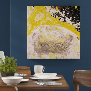 ec3b97eb181 Enigma Abstract 665 Graphic Art Print on Canvas