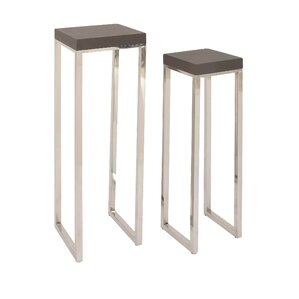 Wonderful 2 Piece Nesting Plant Stand Set