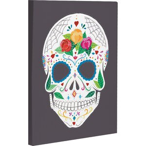 Calavera by Ana Victoria Calderon Graphic Art on Wrapped Canvas