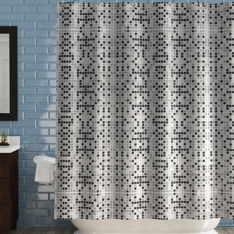 Boysen Tiles Vinyl Shower Curtain