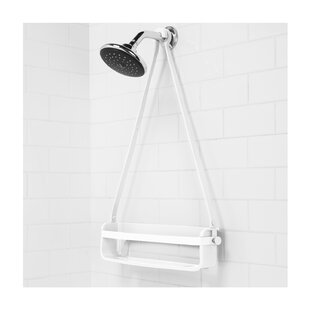 Flex Rubber Plastic Hanging Shower Caddy
