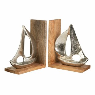 Boat Bookends (Set Of 2)