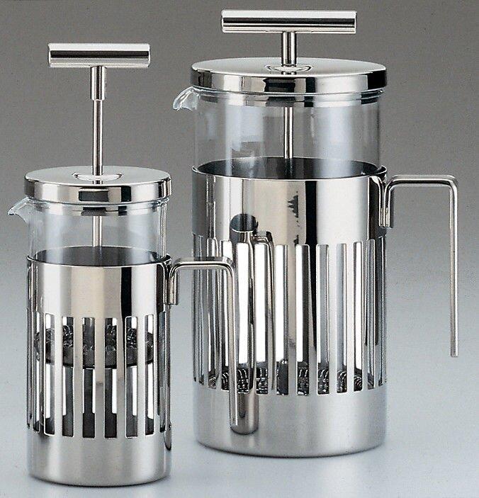 Alessi  Aldo Rossi Press Filter Coffee Maker or Infuser  Size: 72 Oz
