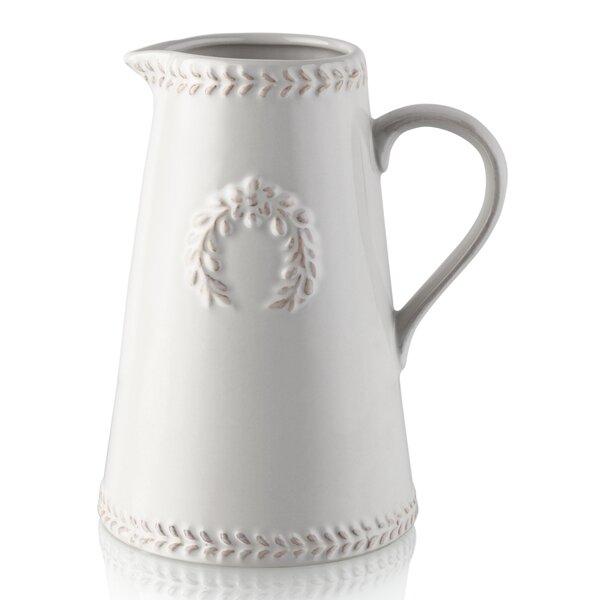 White Pitcher Vase Wayfair
