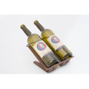 Gina 2 Bottle Tabletop Wine Rack