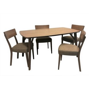 Crompton 5 Piece Breakfast Nook Dining Set