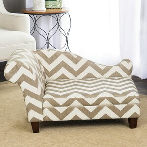 Sophisticated Decorative Dog Chaise Lounger