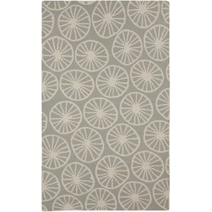 Byington Coastal Slate Area Rug