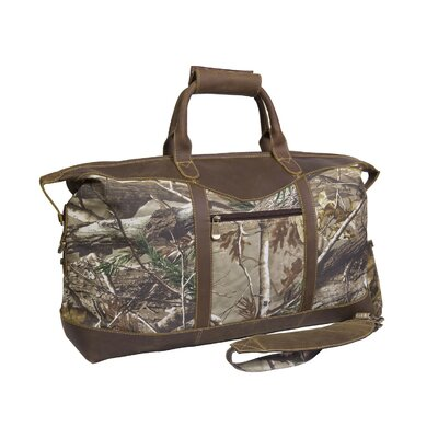 """Realtree 22"""" Duffel Canyon Outback Leather"""