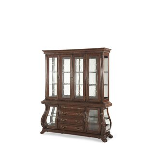 Palace Gates Lighted China Cabinet