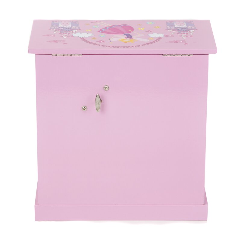 Musical Ballerina Jewelry Box