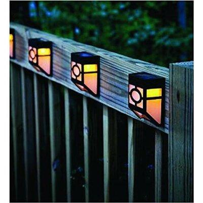 Myfuncorp rock solar color changing spot light reviews wayfair solar powered 1 light fence post cap set of 4 aloadofball Images