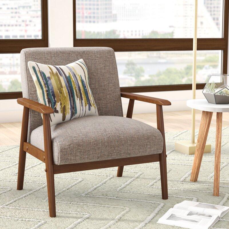 derryaghy wood frame armchair - Wood Frame Armchair