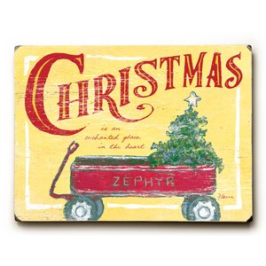 Christmas Wagon Graphic Art
