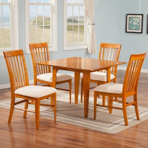 Montreal 5 Piece Dining Set by Atlantic Furniture