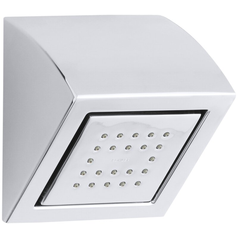 K-8023-2BZ,BN,CP Kohler Watertile Wall-Mounted Square 22-Nozzle ...