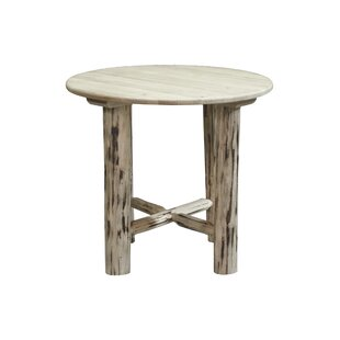 Tustin Round Solid Wood Dining Table