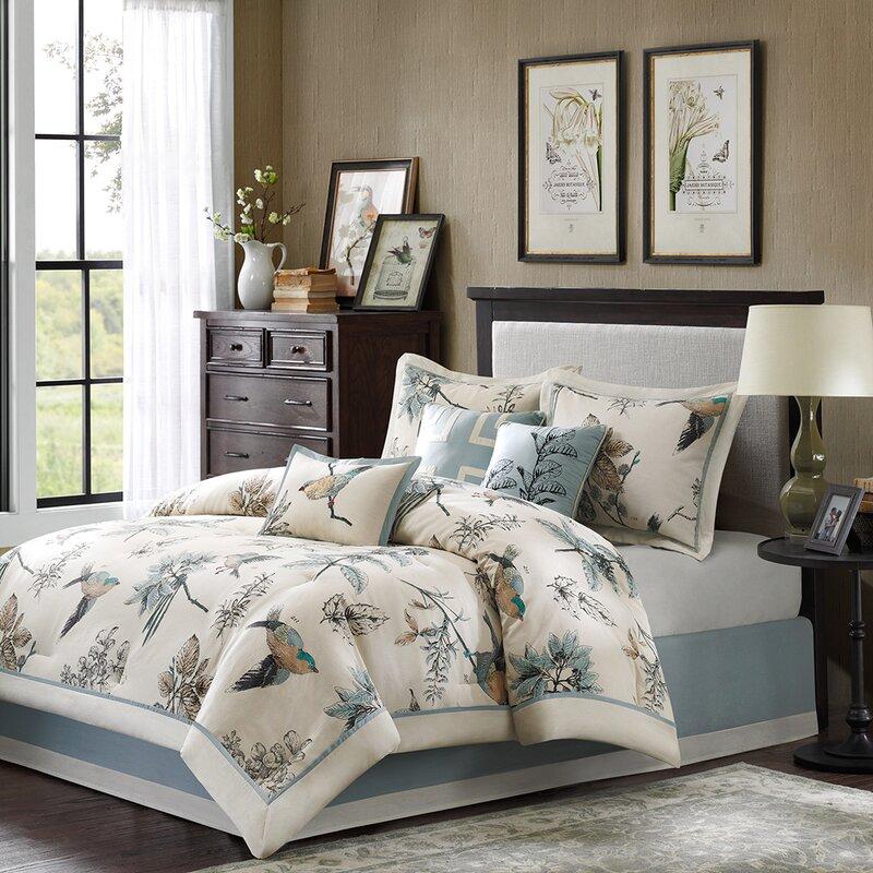 3c05a775df Darby Home Co Silvia 180 Thread Count 100% Cotton Comforter Set & Reviews |  Wayfair