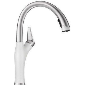 Artona Single Handle Deck Mounted Kitchen Faucet With Pull Down Spray