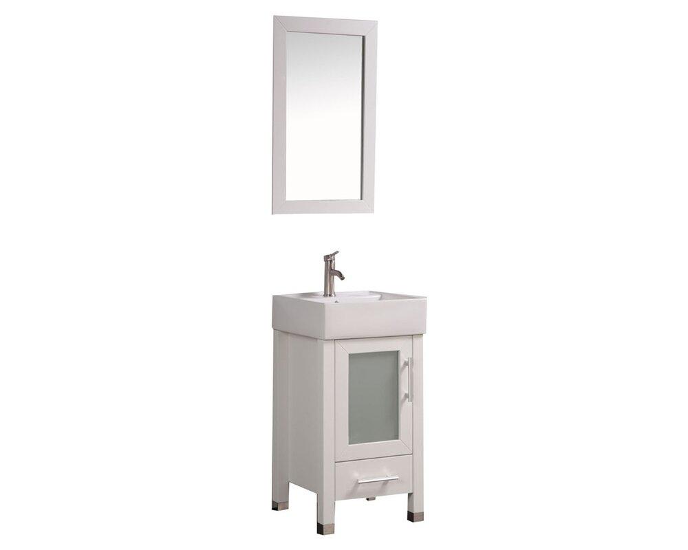 bathroom vanity table with sink. bosarge 18\ bathroom vanity table with sink l