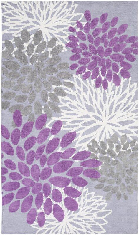 Odele Lavender Gray Area Rug
