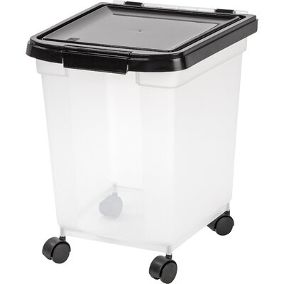 IRIS Airtight 65 Qt Pet Food Storage Container Reviews Wayfair