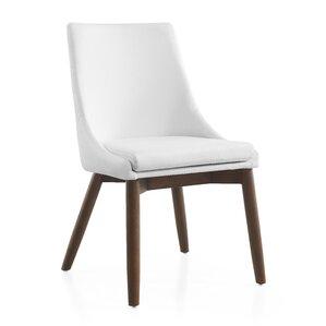 Creek Side Chair in Linen - Dark Gray by Casabianca Furniture