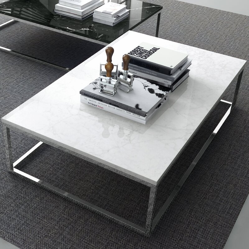 Prairie Marble Coffee Table