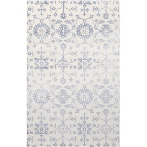 Iroquois Hand Woven Blue/Gray Area Rug