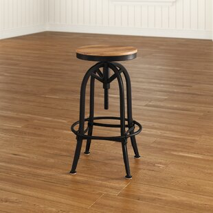 Southbridge Adjule Height Swivel Bar Stool