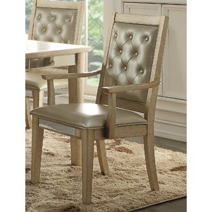 Leanora Upholstered Dining Chair (Set of 2)