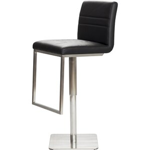 Adjustable Height Swivel Bar Stool by Matrix