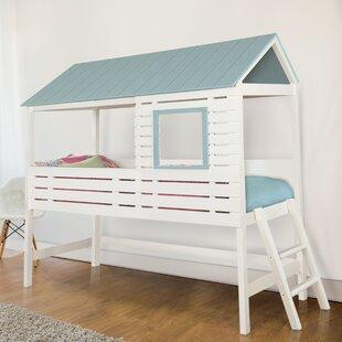 Ebony Canopy Bed & Canopy Kidsu0027 Beds Youu0027ll Love | Wayfair