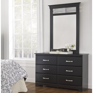 Trenton 6 Drawer Dresser with Mirror by Lang Furniture