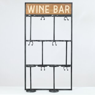 Malley 6 Bottle Floor Wine Rack Reviews