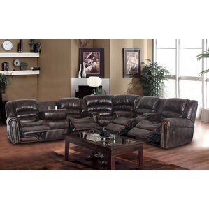 Sophy Reclining Sectional by Beverly Fine Furniture