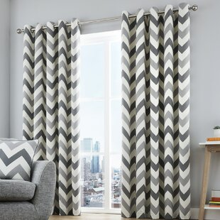 Gillespie Eyelet Room Darkening Curtains Set Of 2