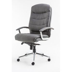 Leather Computer Chairs genuine leather office chairs | wayfair.co.uk