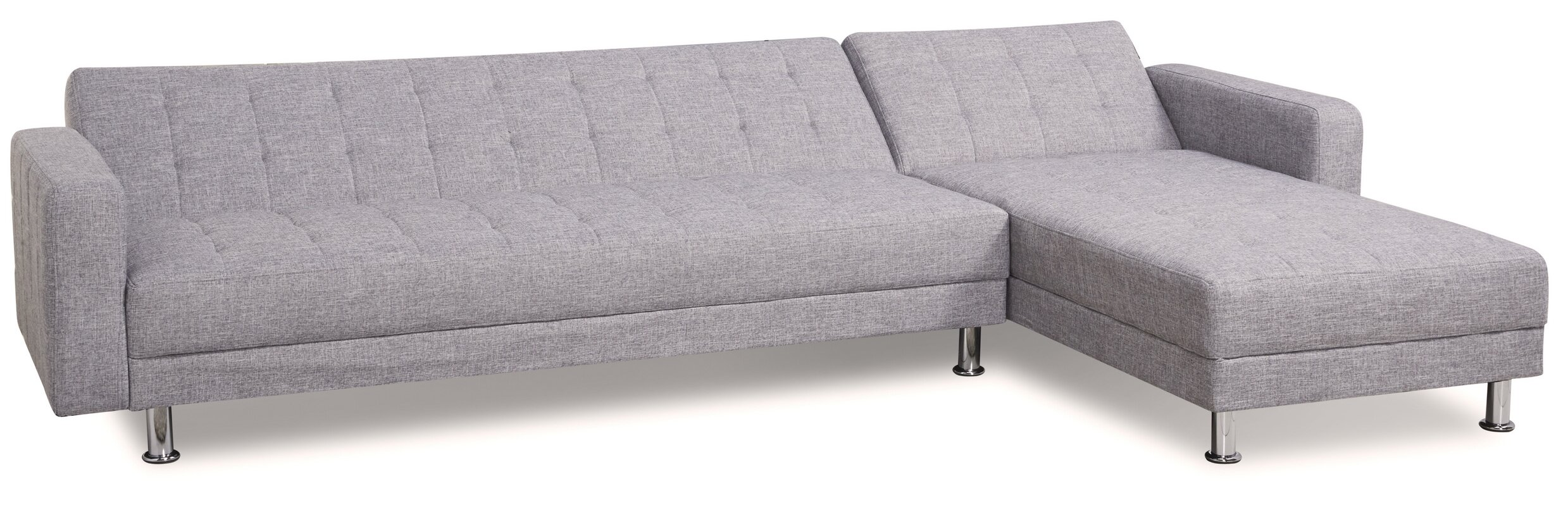 Kaleidoscope Furniture Sleeper Sectional & Reviews