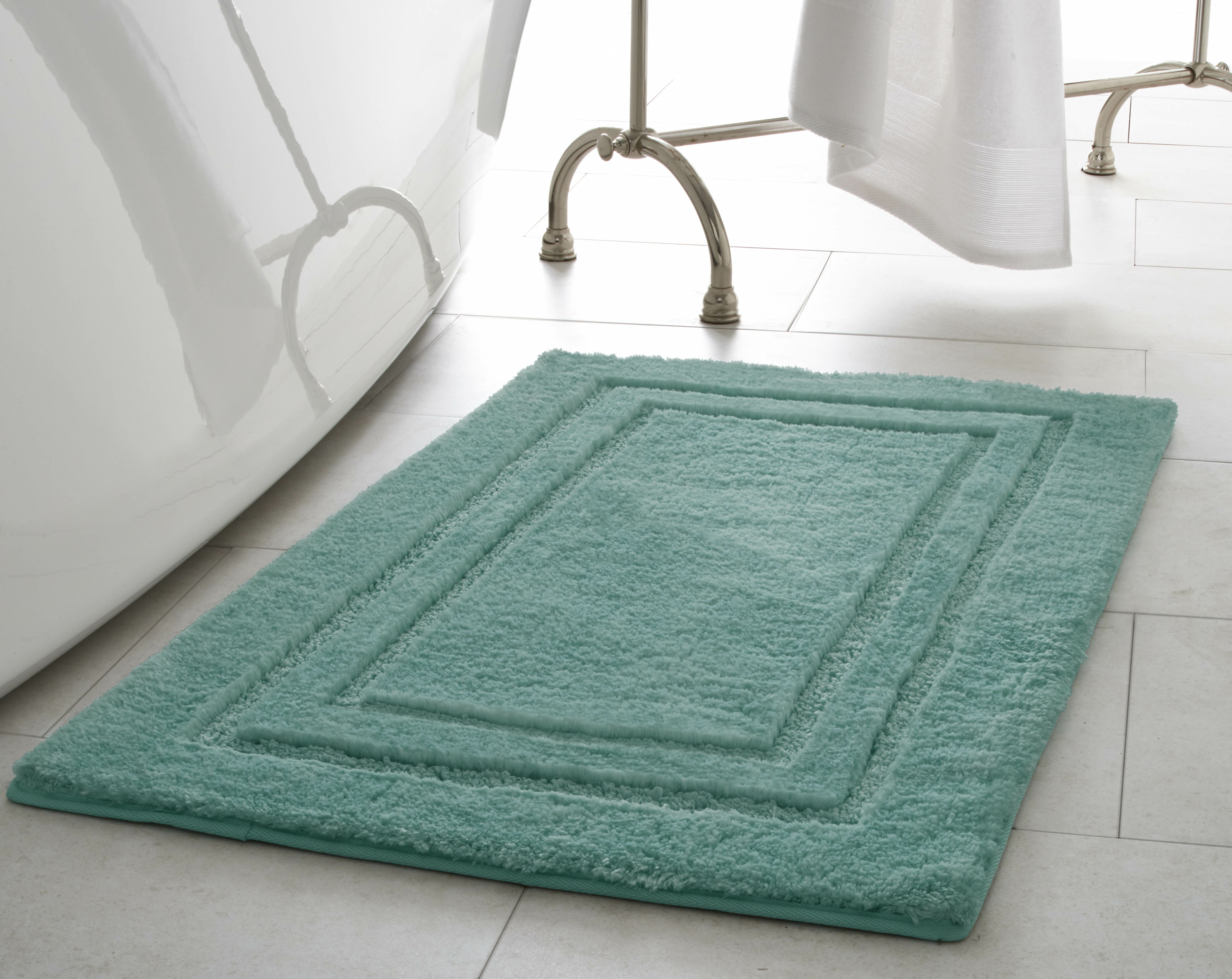 15814b74a0c7 Laura Ashley Pearl Double Border Bath Mat   Reviews