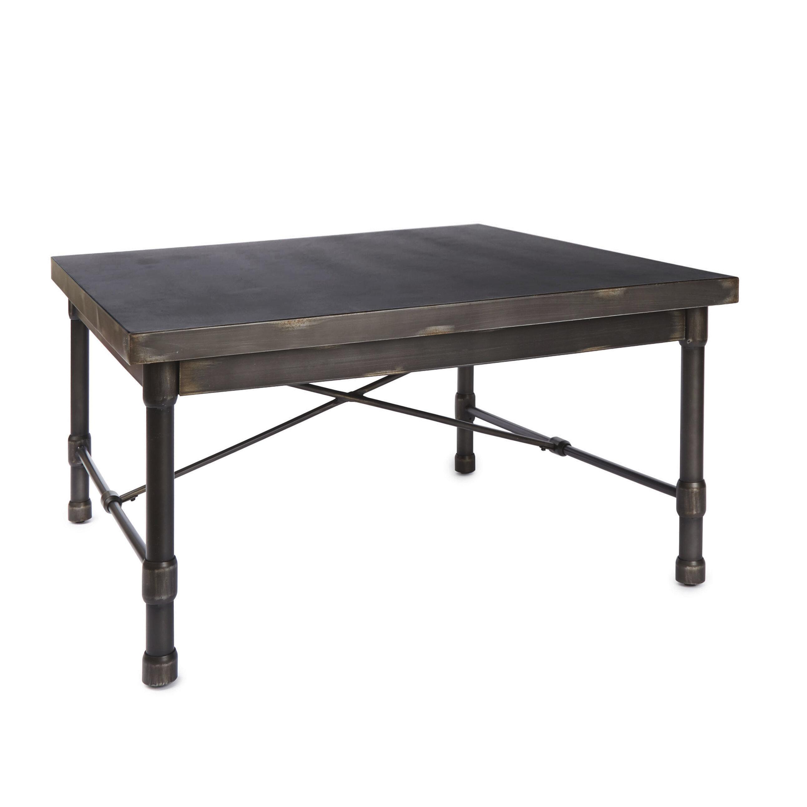 Trent Austin Design Selena Industrial Square Coffee Table