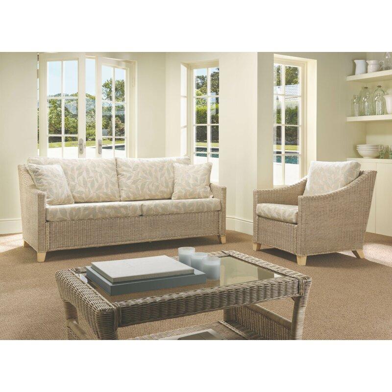 August Grove Cavaillon 3 Piece Conservatory Furniture Set