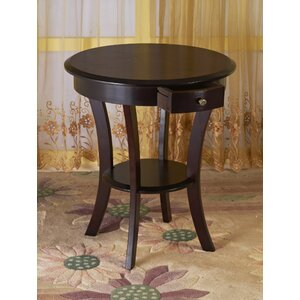 Leander End Table With Storage