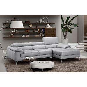 Liam Leather Sectional by ..