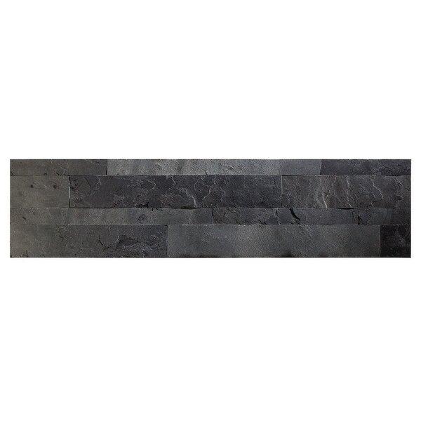 Aspect 5 9 Quot X 23 6 Quot Slate Peel Amp Stick Mosaic Tile In